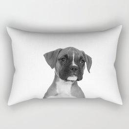 Boxer Pup Rectangular Pillow