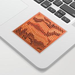 TOPOGRAPHY 2017-000 Sticker
