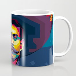 Emiliano ZAPATA - Viva Zapata! - Revolution - Zapatista - El Mexican - digital art Coffee Mug