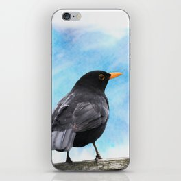 The whistling of the blackbird iPhone Skin