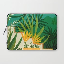 Exotic Garden Nightscape / Tropical Night Series #2 Laptop Sleeve