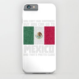 Mexico Mexicans Mexican Flag iPhone Case