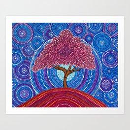 The Sakura Tree Art Print