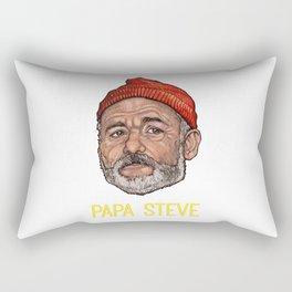 Papa Steve Rectangular Pillow