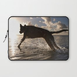 Jumping with joy. Laptop Sleeve