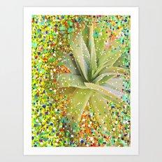 Aloe Christmas Art Print