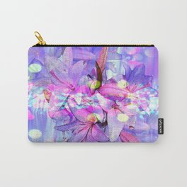 LILY IN LILAC AND LIGHT Carry-All Pouch