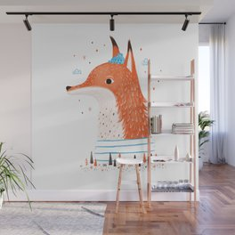 Foxy Forest Wall Mural