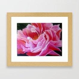 """Pink Peony"" Framed Art Print"