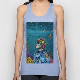 Under the water Unisex Tank Top