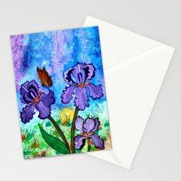 Iris at Sunrise Stationery Cards