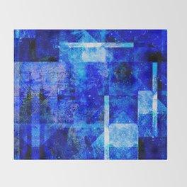 Sapphire Nebulæ Throw Blanket
