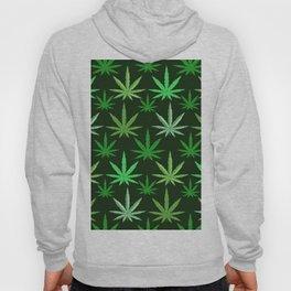 Marijuana Green Leaves Weed Hoody