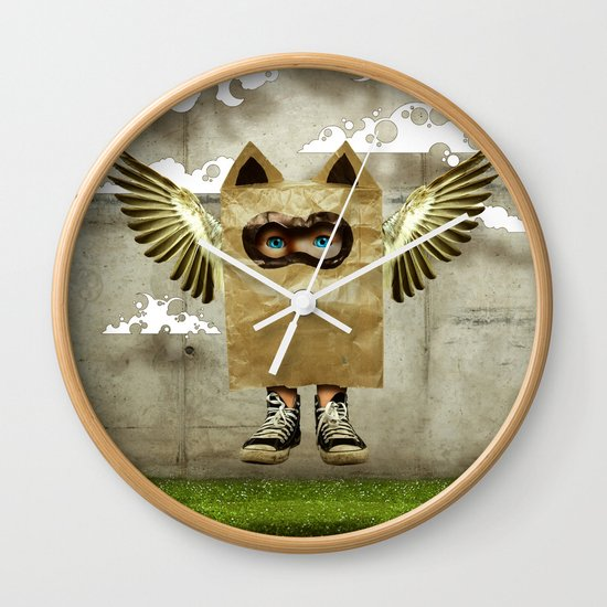 Fly try Wall Clock