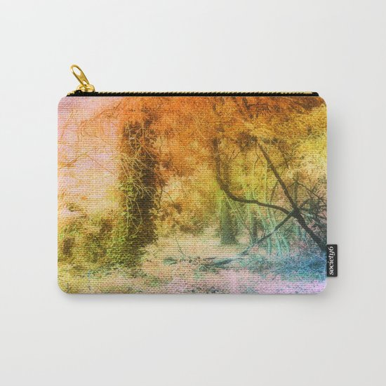 Colorful Tree Landscape Carry-All Pouch
