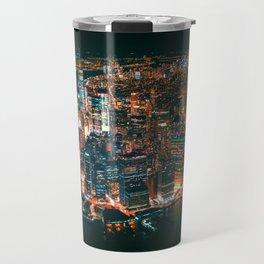 City of Lights New York City (Color) Travel Mug