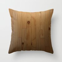 woody Throw Pillows featuring Woody by Cloz000