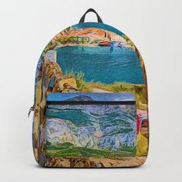 Makarska Bay   Croatia Backpack
