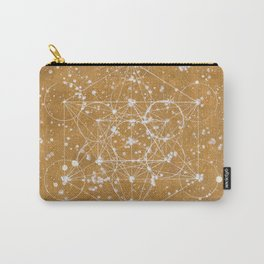 Metatron's Cube GOLD Carry-All Pouch