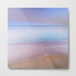 Magical beach. Summer dreams Metal Print