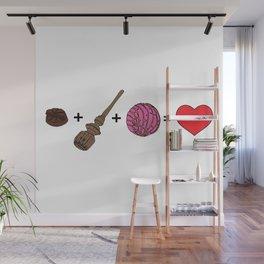 Amor Dulce Wall Mural