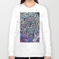 einstein Long Sleeve T-shirts featuring EINSTEIN by Art Book Of  Amanda