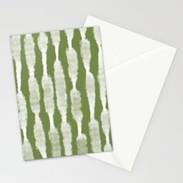 Tie Dye no. 2 in Green  Stationery Cards