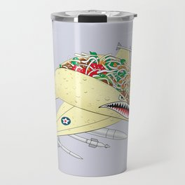 Taco Fighter Jet Travel Mug
