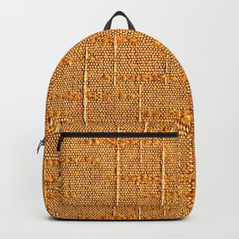Heritage - Hand Woven Cloth Yellow Backpack