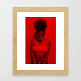 We Play at Night Framed Art Print