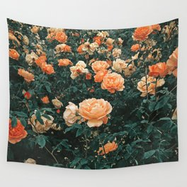 Forest of Roses Wall Tapestry