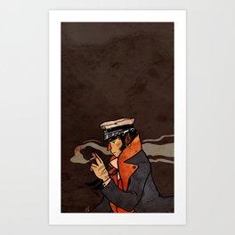 Corto. Art Print