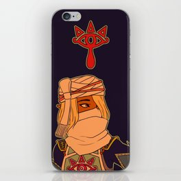 hyrule warriors sheik iPhone Skin