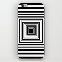 Optic Illusion Room With Visual Effect iPhone Skin