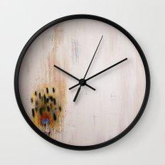 Burn Down Pretty Wall Clock