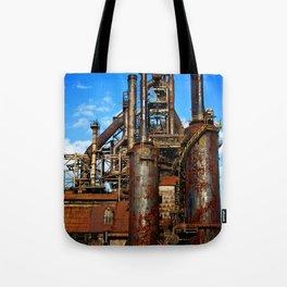Bethlehem Steel Blast Furnace 1 Tote Bag