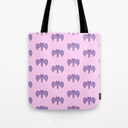 Pastel Bat Tote Bag