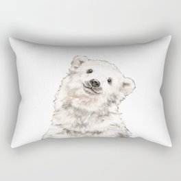 Baby Polar Bear Rectangular Pillow