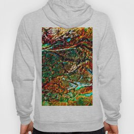 Emerald Impressions Abstract Hoody