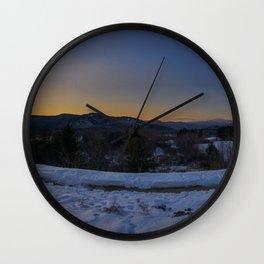 Mt. Washington Scenic View Intervale NH (1) Wall Clock