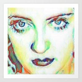 She's got Bette Davis Eyes Art Print