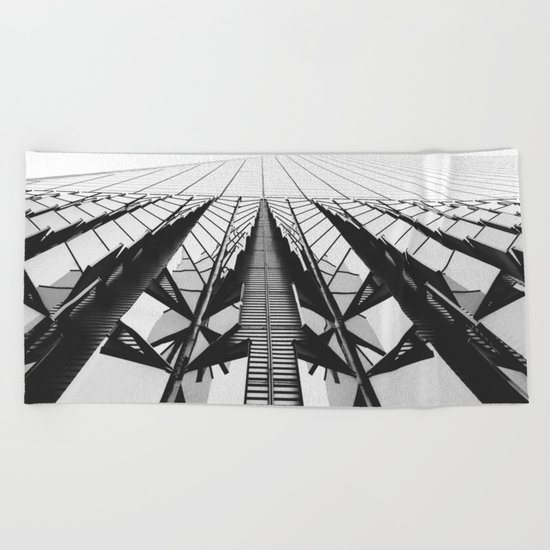 To the Limit - World Trade Center - NYC Beach Towel