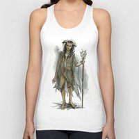 tina fey Tank Tops featuring death fey by laya rose