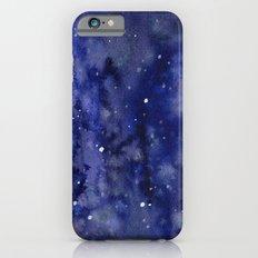 Night Sky Galaxy Nebula Stars Watercolor Space Texture Slim Case iPhone 6s