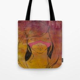 sauvage girl Tote Bag