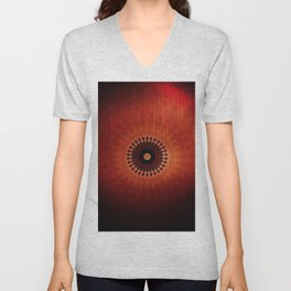 Red like the Sun Unisex V-Neck