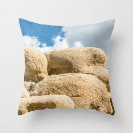 Big Rock 7445 Joshua Tree Throw Pillow
