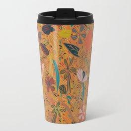 Flower Seeds - Orange Travel Mug