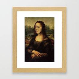Mona Ji-sa of BigBang Framed Art Print