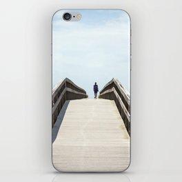 Ocracoke Pony Pen Boardwalk 2018 iPhone Skin